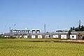 Niigata Nishi Interchange on the Hokuriku Expressway Toyama Exit (1st Toll Gate).jpg
