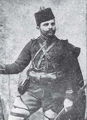 Nikola Andreev (Kostur voyvoda) - A photograph of Nikola Andreev