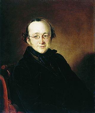 Портрет Николая Ивановича Бера. 1842