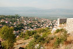 Niksar view from the city center