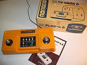 History of Nintendo - Nintendo's first video game system, the Color TV Game 6