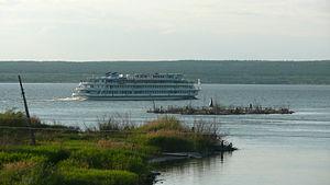 Nizhnekamsk Reservoir - Nishnekamsk reservoir near Naberezhnye Chelny.