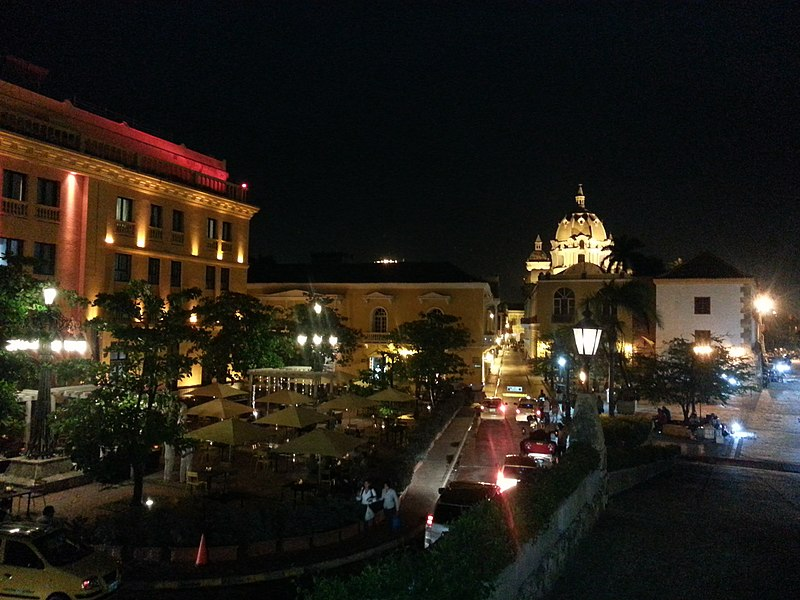 O que fazer em Cartagena à noite