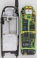Nokia 6110 - rear part and motherboard-92717.jpg