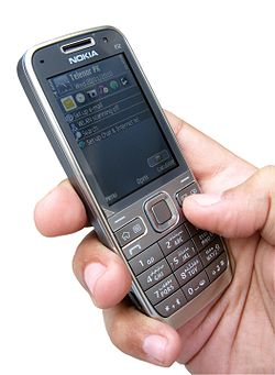 Image illustrative de l'article Nokia E52