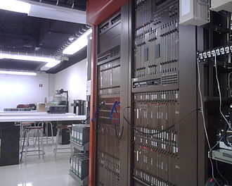 Digital Multiplex System - A DMS-10 used as a lab trainer at Southeast Missouri State University.