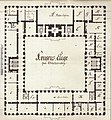 Norup's plan of Christiansborg 1767, the King's Apartment - Håndskriftsamlingen 23.jpg