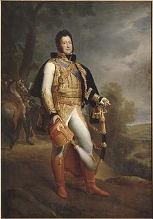 The Duke of Orleans in uniform as a Colonel-General of the Hussars in 1817 (Source: Wikimedia)