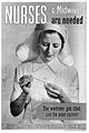 Nurses & midwives are needed, WWll poster Wellcome L0025327.jpg