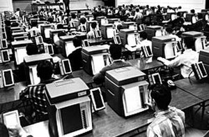 "New York Institute of Technology - NYIT pioneered computers in the classrooms, it was the first to introduce ""teaching machines"" in the 1950s"