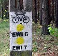 Ośrodek Nadwarciański Gród śc. rower 20110502 kpjas.jpg