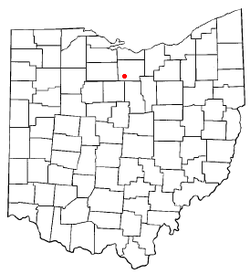 Location of Willard, Ohio