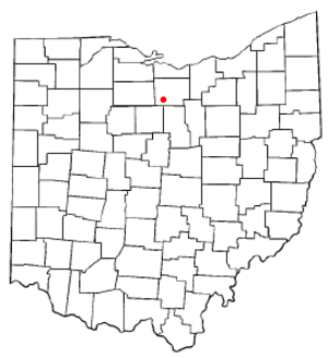 Willard, Ohio - Image: OH Map doton Willard