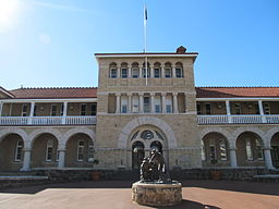 OIC perth mint entrance