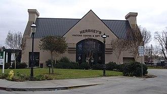 Oakdale, California - Former Hershey's Oakdale Visitor Center and Shop.