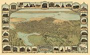 Depiction of Oakland in 1900.