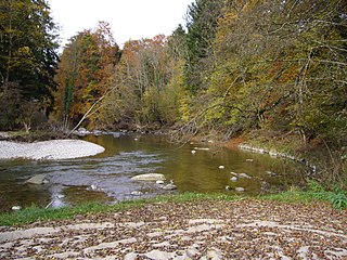 river in Switzerland, tributary of the Limmat