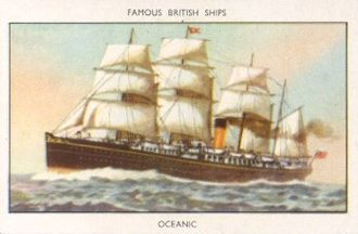 Occidental and Oriental Steamship Company - Image: Oceanic 1871