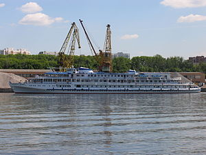 Ocharovannyy Strannik on Khimki Reservoir 5-jun-2012 2.JPG