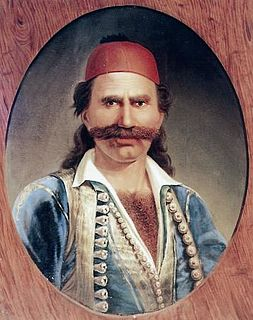 Odysseas Androutsos Member of the Greek War of Independence