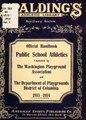 Official handbook, public school athletics, Washington, D. C.; (IA officialhandbook00mart).pdf