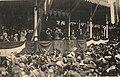 Offizielle Ansichtskarte von der Eröffnungsfeier der 27. Wanderausstellung der Deutschen Landwirtschafts-Gesellschaft in Hannover mit Kaiser Wilhelm II., Bildseite.jpg