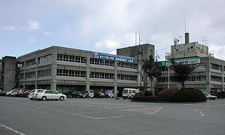 Ōfunato City in Tōhoku, Japan