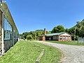 Old Cafeteria Building, Old Spring Creek School, Spring Creek, NC (50551689602).jpg