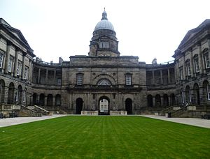 University of Edinburgh - The university's Old College