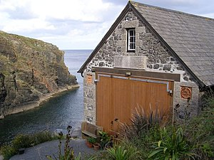 The Lizard Lifeboat Station - The former Church Cove Lifeboat Station c.2006.
