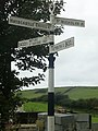 Old Sign Post, Castlemorris - geograph.org.uk - 1503832.jpg