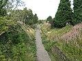 Old railway path at Loanhead - geograph.org.uk - 947490.jpg