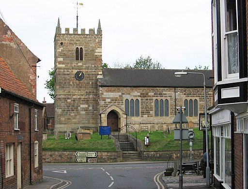 Ollerton - Church from Station Road - geograph.org.uk - 2369314