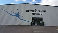 Olympic Flight Museum front of the Building.jpg