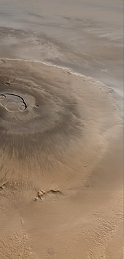 "Olympus Mons (Latin, ""Mount Olympus"") is the tallest known mountain in our solar system, located on the planet Mars."