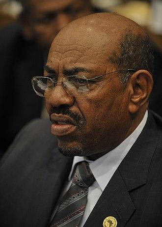 Omar al-Bashir - Image: Omar al Bashir, 12th AU Summit, 090202 N 0506A 137