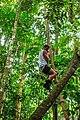 On the Rio Tambopata…never challenge Tim to climb a vine (8444751469).jpg