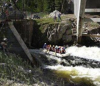 Kipawa River - Laniel Dam prior to refurbishment.