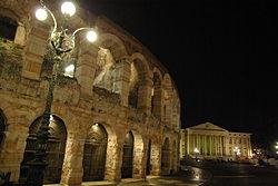 Ora della Terra Verona Piazza Bra Arena 2013 WWF Verona Paolo Villa 9886.JPG