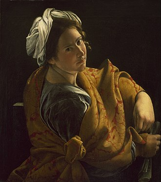 Orazio Gentileschi - Image: Orazio Gentileschi Portrait of a Young Woman as a Sibyl Google Art Project