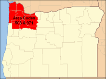 503 Area Code Map Area codes 503 and 971   Wikipedia 503 Area Code Map
