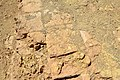 Original tiles at the upper surface of the ziggurat and temple of Nabu at Borsippa, Iraq.jpg
