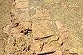 Original tiles at the upper surface of the ziggurat and temple of Nabu at Borsippa, Iraq.jpg