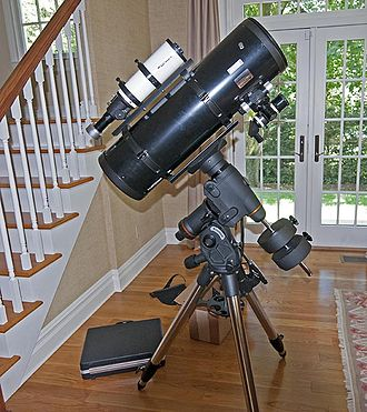 Astrograph - This is a modern amateur newtonian astrograph, specifically designed for astrophotography.