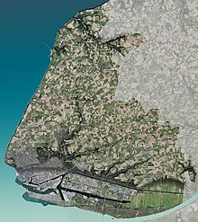 carte de la communauté urbaine Le Havre Seine Métropole.