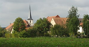 Werneck - View of Zeuzleben