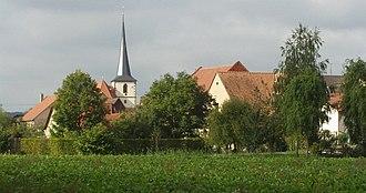 Werneck - View of Zeuzleben