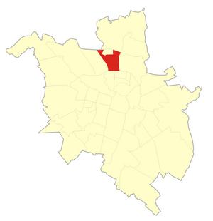 Piątkowo, Poznań - The osiedle of Piątkowo within Poznań