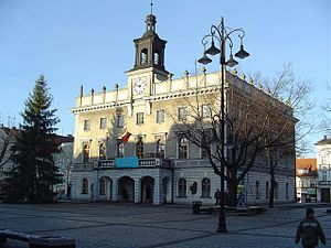 Ostrów Wielkopolski - Image: Ostrowcity hallafter 1