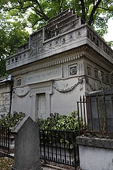Richard Wallace's tomb